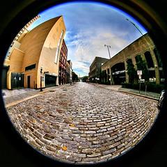 Morris Avenue - Birmingham, Alabama usa. Downtown Historic District.