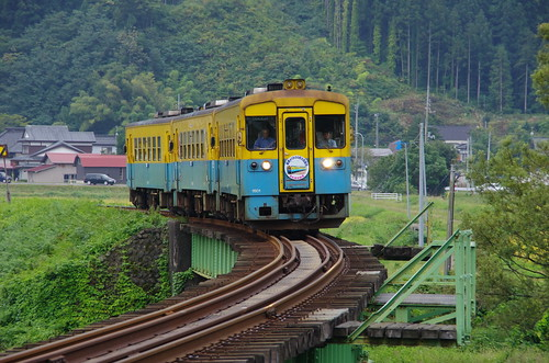 由利高原鉄道 YR1500形3両サヨナラ運転 #11