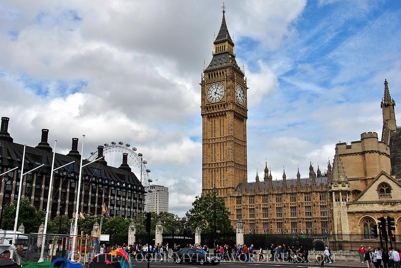 Elizabeth Tower, London, England