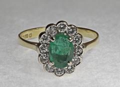 ring, jewellery, gemstone, emerald,