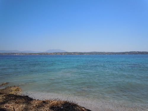 blue water island turquoise aegean greece spetses 2011 summervacation2011