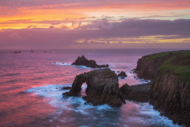 Exploded - Lands End, Cornwall, England