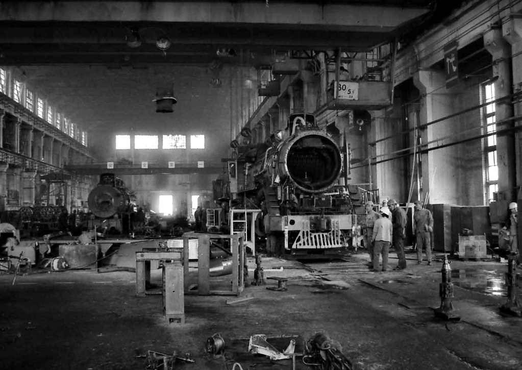 Datong Locomotive Works Shanxi China 26th October 1983