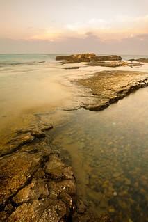 Scogli al tramonto (Reefs at Sunset)