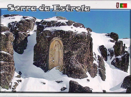 Our Lady of the Good Star on Serra de Estrela Portugal