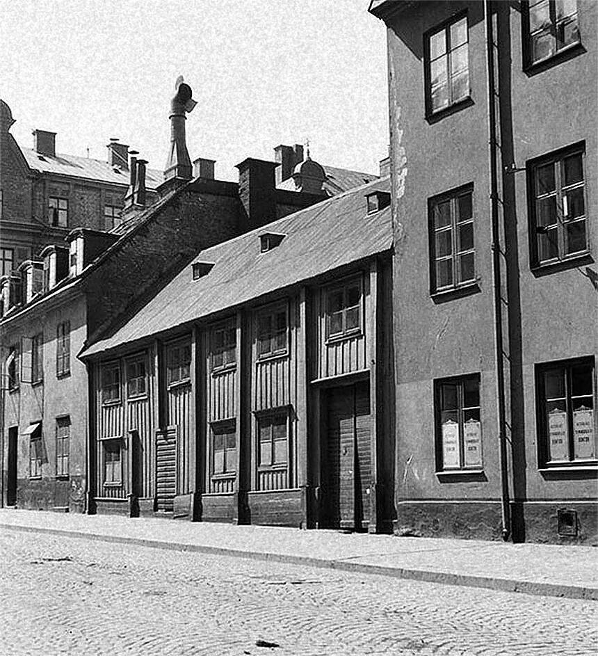 Timmermansgatan mot Maria Prästgårdsgata