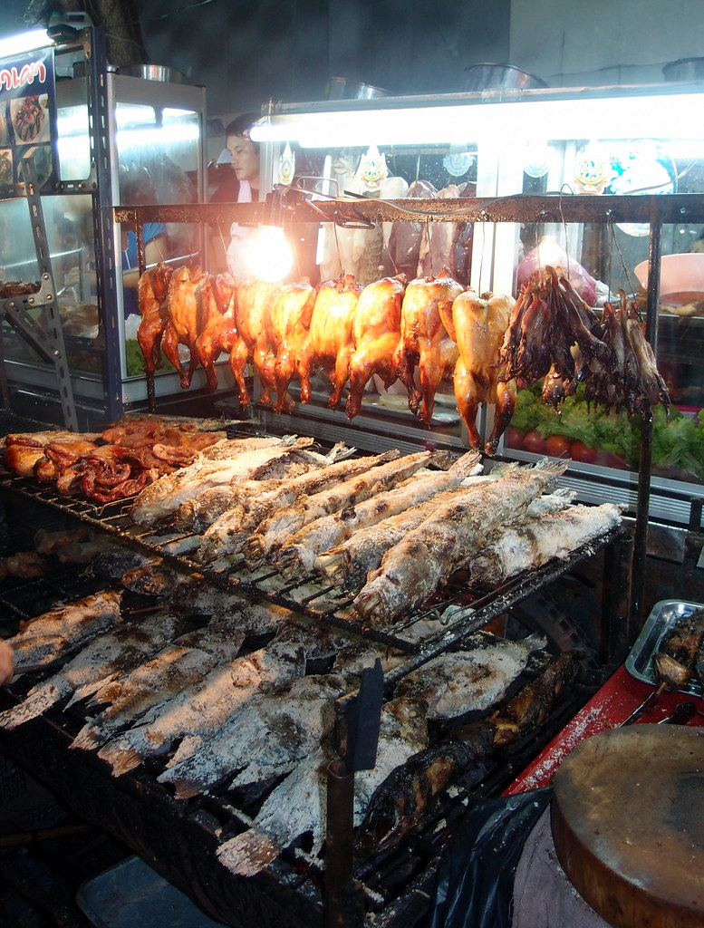 Must Try Bangkok Food: Salted Grilled Fish