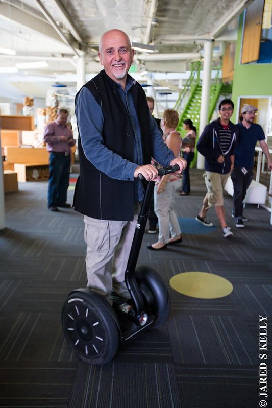 Peter Gabriel @ The Googleplex