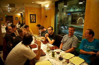 French dinner at JavaOne
