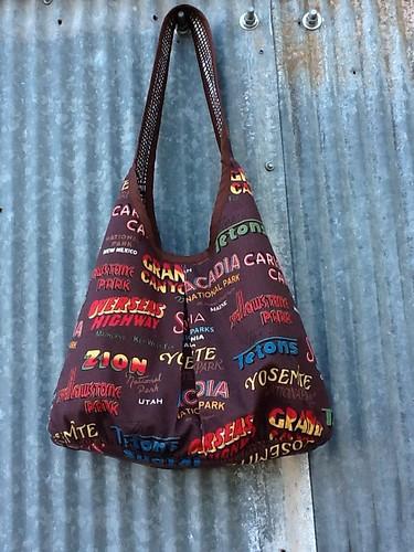 Runaround bag by Debbie / Prairie Emporium