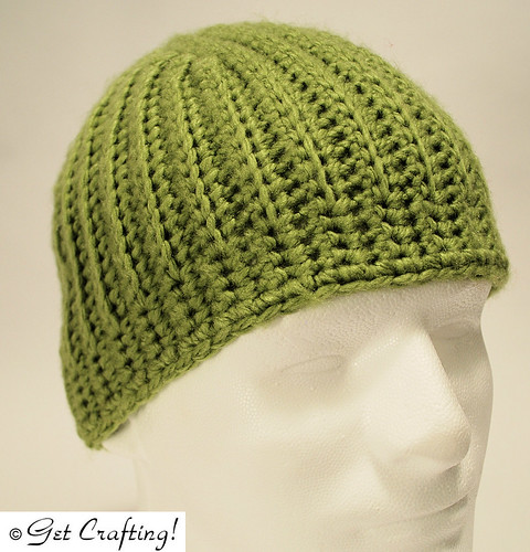 Short rows hat