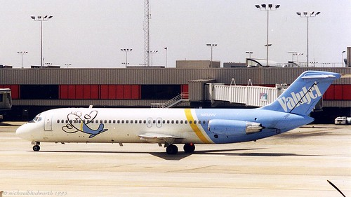 ValuJet DC-9 N932VV taxi