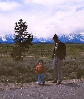 Wyoming   -  Grand Teton National Park   -  Jessica & John   -   June 1975