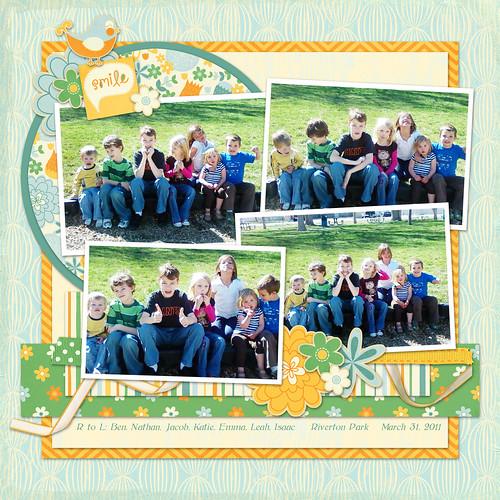 5 cousin photoshoot