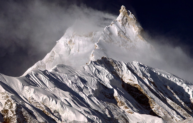 Pinnacle( 7992) of Manaslu, Nepal