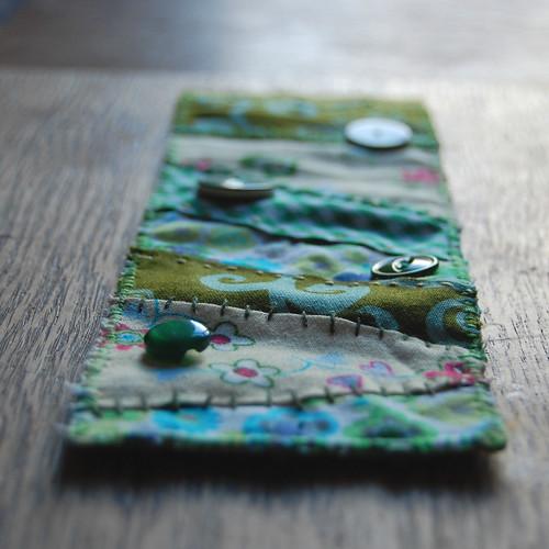 patchwork cuff