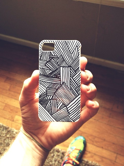How to how to decorate your phone case : Phone case drawing : Flickr - Photo Sharing!