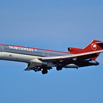 11gg - Northwest Airlines Boeing 727-251; N203US@FLL;30.01.1998