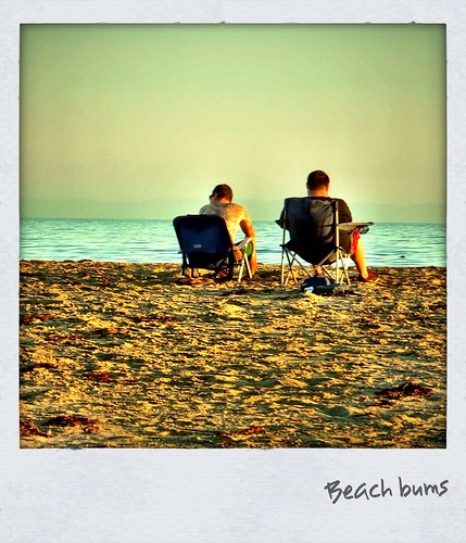 Beach bums by Damian Gadal