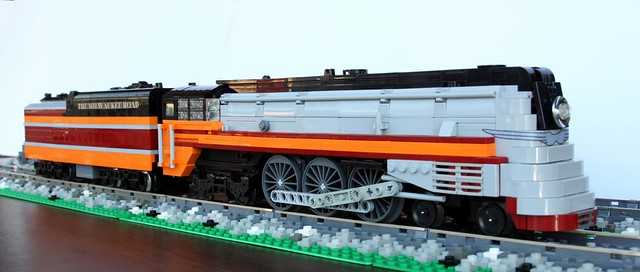 Milwaukee Road F7 4-6-4 Baltic