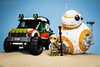 BB-8 : Exploring Jakku.