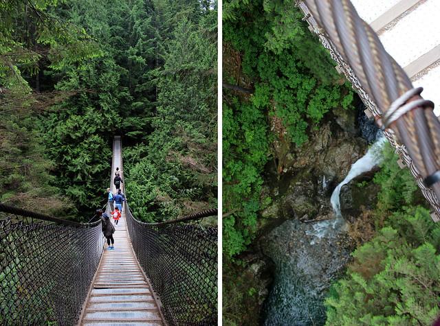 North Vancouver Lynn Canyon Bridge