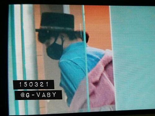 Big Bang - Incheon Airport - 21mar2015 - G-Dragon - G_Vaby - 05