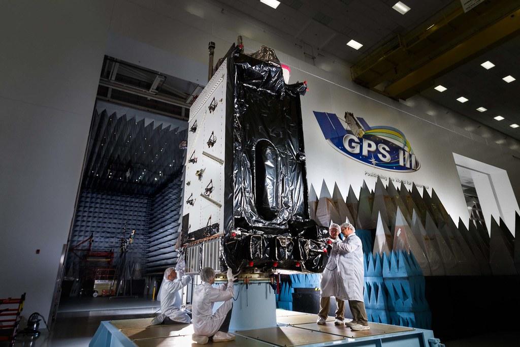GPS III SV 01 Completes Environmental Testing