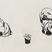 29.北京狗25X12cm‧紙凹版collagraphs‧版數2-10‧2006