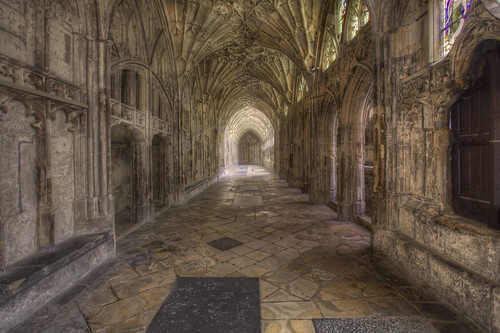 'Corridor in the Cloisters'