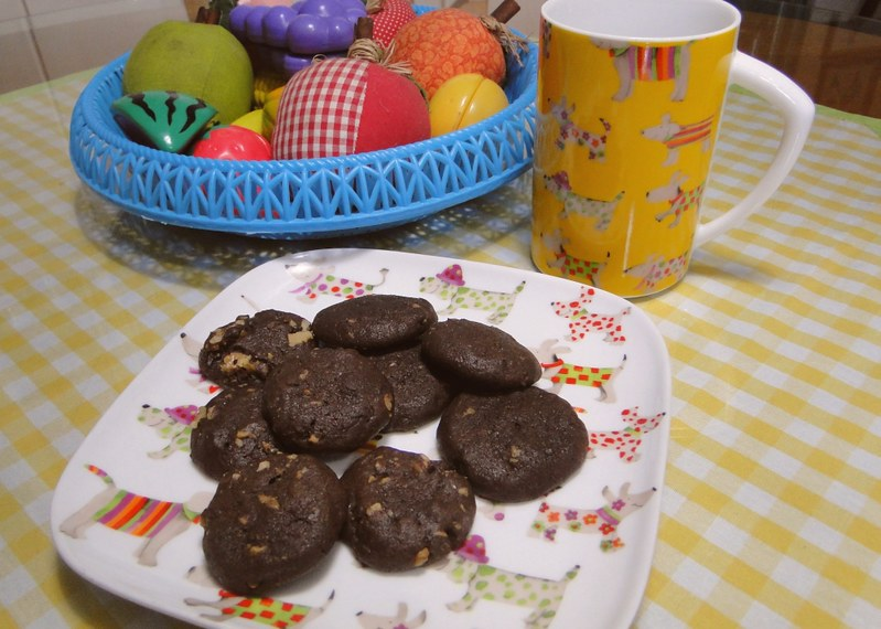 Cookies de chocolate da Nigella