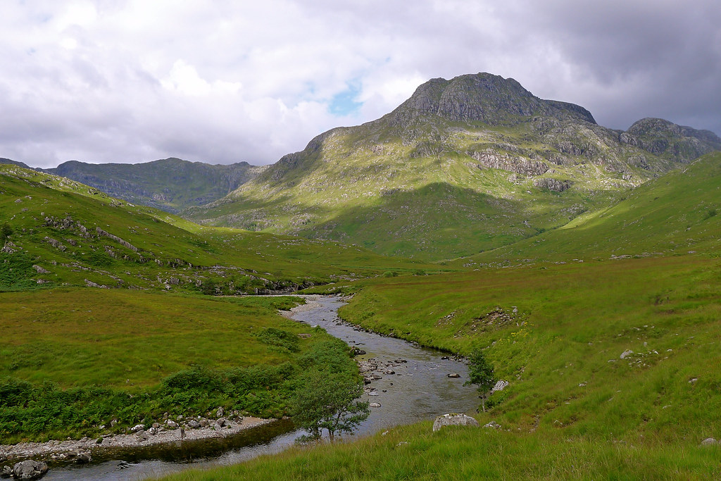 Ben Aden above the River Carnach