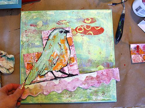 Mint Bird #4