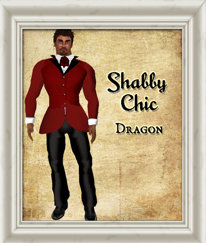 Shabby Chic Dragon by Shabby Chics