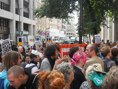 Busy blocking DWP- shut ATOS!
