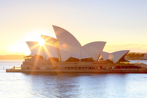 Opera House Sunrise