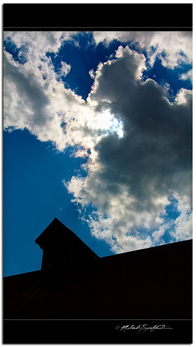 blue light sky sun black art weather silhouette clouds composition barn canon landscape photography eos illinois cumulus rays crepuscularrays atmosphericoptics 60d