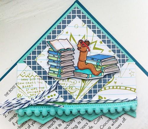 TT#114 Corner Bookmark