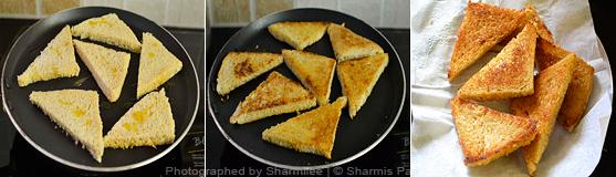 How to make shahi tukda - Step3