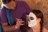 Cool Inc Suspension Aug 2012_by Lauren Barkume 14382 Facepainting in preparation