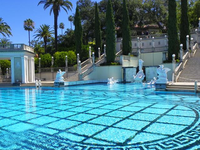 Outdoor Swimming Pool Hearst Castle San Simeon San Luis Flickr Photo Sharing