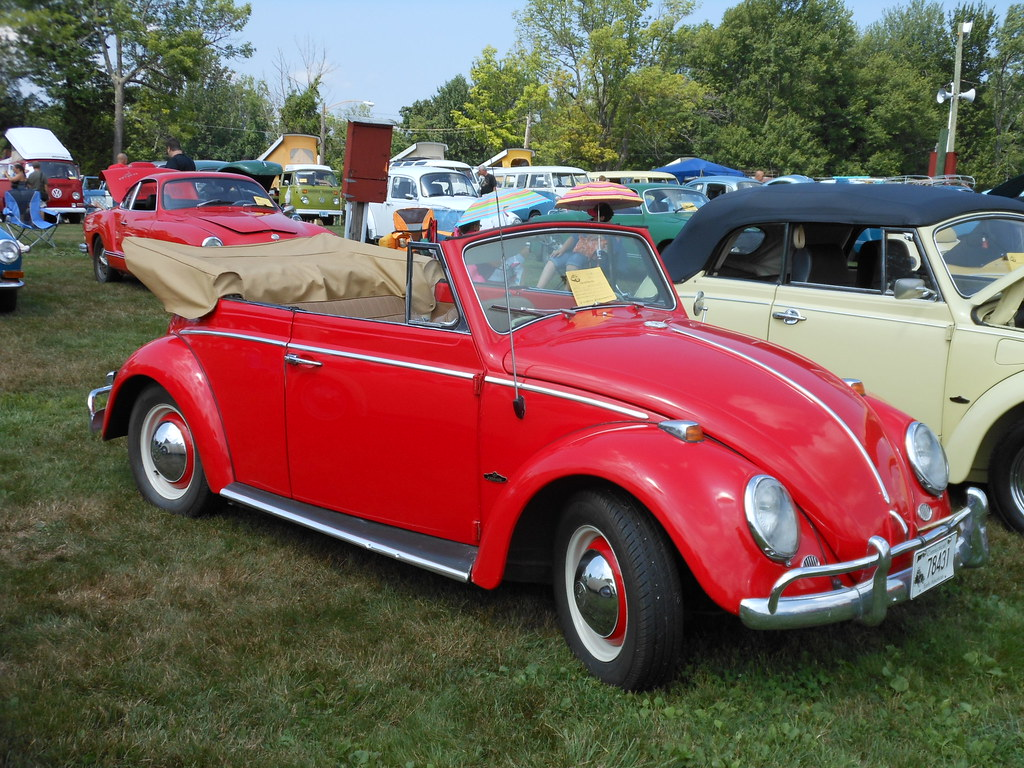 Red Convertible Bug