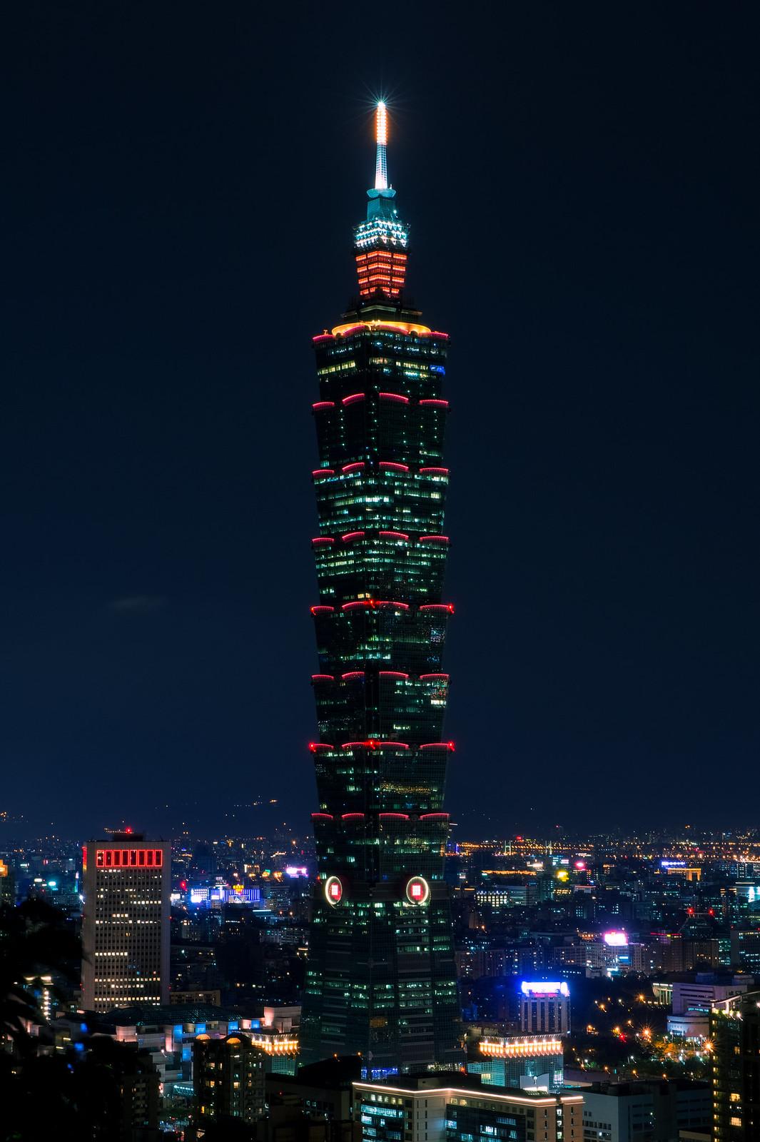 台北.夜色-Taipei 101
