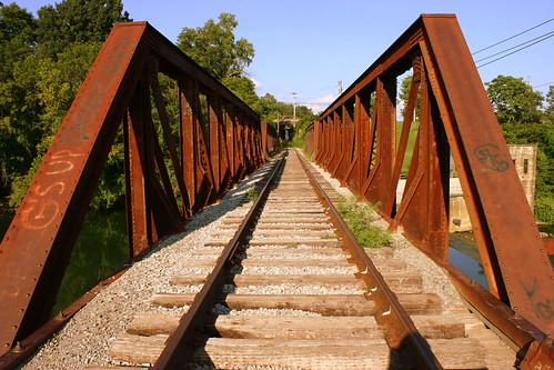 Railroad Bridge over Barren Fork - McMinnville, TN