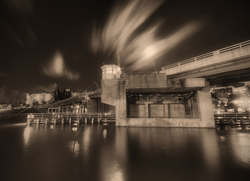 longexposure bridge water hotel view florida fl caminoreal bocaratonbridgehotel bocainletbridge sandracanning