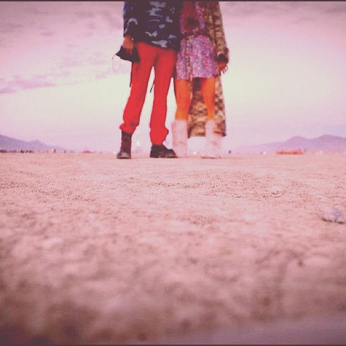 Me and @hoover11 at #burningman2012