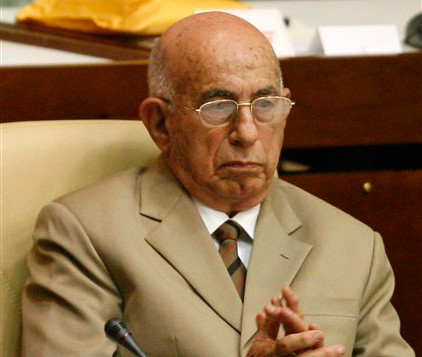 Republic of Cuba Vice President Jose Ramon Machado Ventura. He represented Cuba at the Non-Aligned Movement summit in Tehran during late August 2012. by Pan-African News Wire File Photos