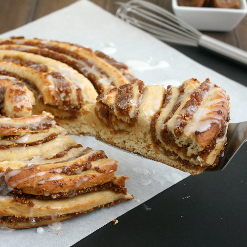 Fig-Swirl Coffeecake