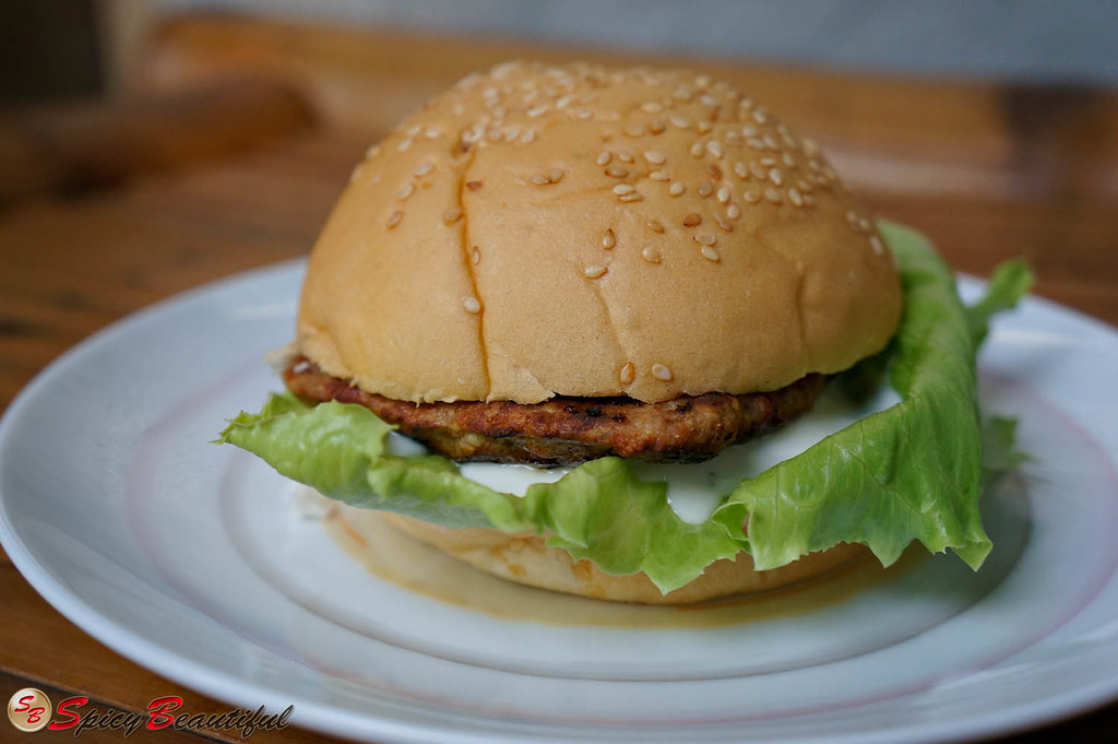 Spicy Grilled Jalapeno-infused Chicken Burger