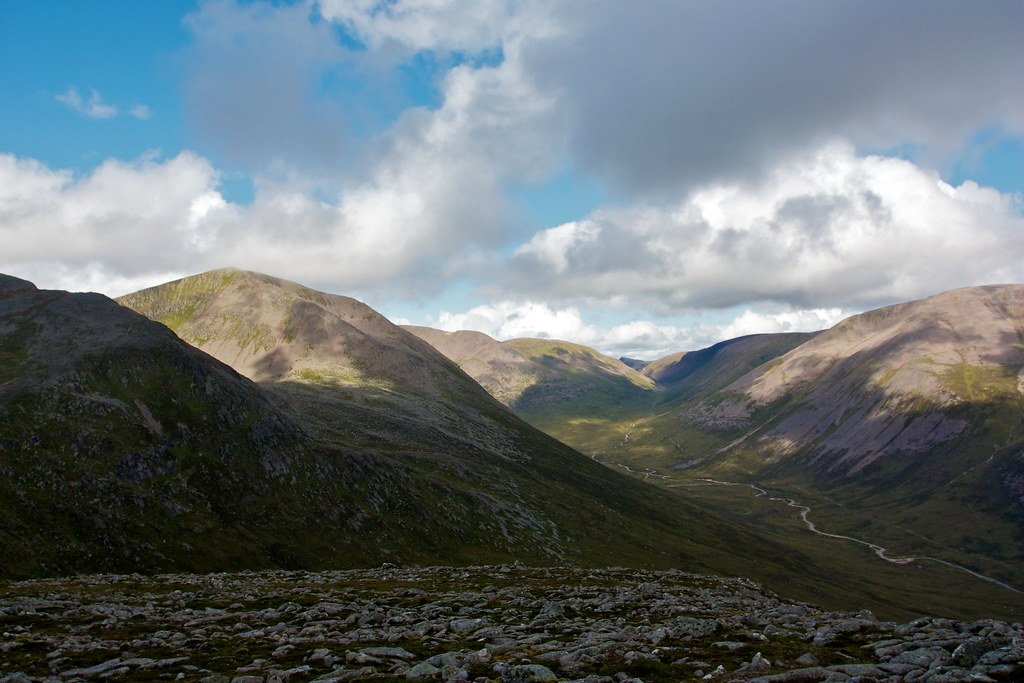 Cairn Toul and the Lairig Ghru